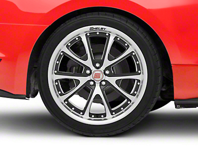 Shelby CS40 Black Machined Wheel - 20x10 (15-17 All)