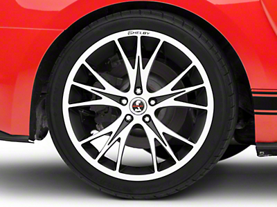 Shelby CS1 Black Machined Wheel - 20x11 (15-19 GT, EcoBoost, V6)