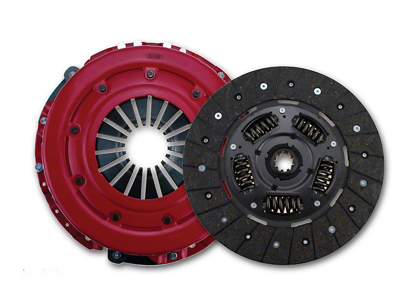 RAM HDX Organic Clutch Kit - 10 Spline (86-Mid 01 GT; 93-98 Cobra)