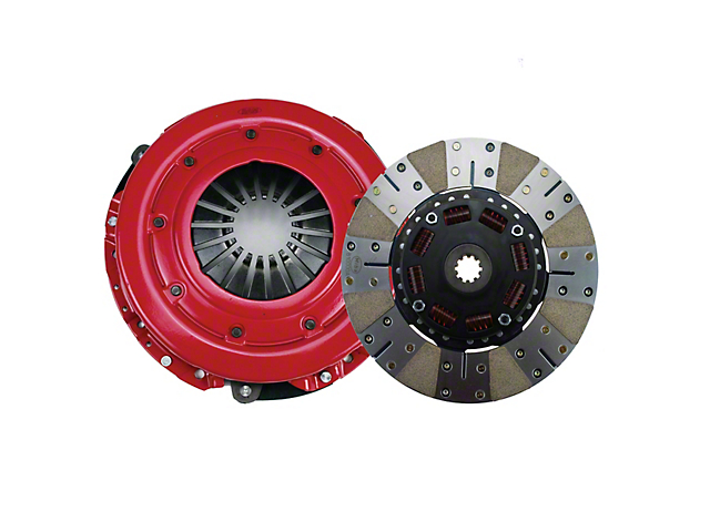 RAM Powergrip HD Iron/Organic Clutch Kit; 10 Spline (86-Mid 01 GT; 93-98 Cobra)