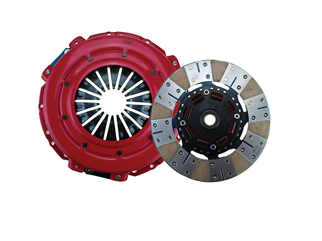 RAM Powergrip Metallic/Organic Clutch Kit; 23 Spline (11-17 GT; 12-13 BOSS 302)