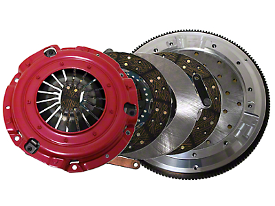 RAM Street Dual Disc Force 9.5 Clutch w/ 8 Bolt Aluminum Flywheel - 23 Spline (11-17 GT, BOSS)