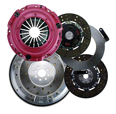 RAM Street Dual Disc Force 9.5 Clutch w/ 8 Bolt Aluminum Flywheel - 26 Spline (96-10 V8)