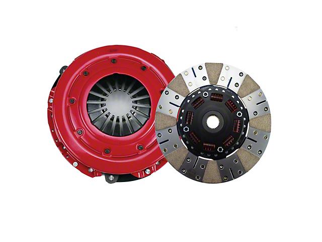 RAM Powergrip Iron/Organic Clutch Kit; 26 Spline (86-Mid 01 GT; 93-98 Cobra)