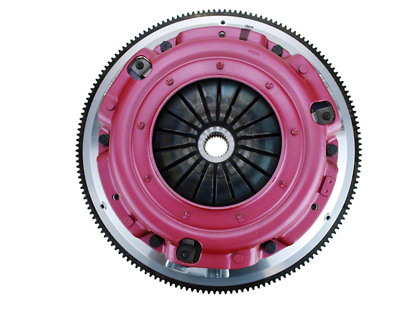 RAM Street Dual Disc Force 9.5 Clutch w/ Flywheel - 26 Spline - 6-Bolt (86-95 5.0L)