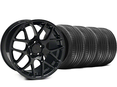 AMR Black Wheel & Sumitomo Tire Kit - 18x8 (05-14 All)