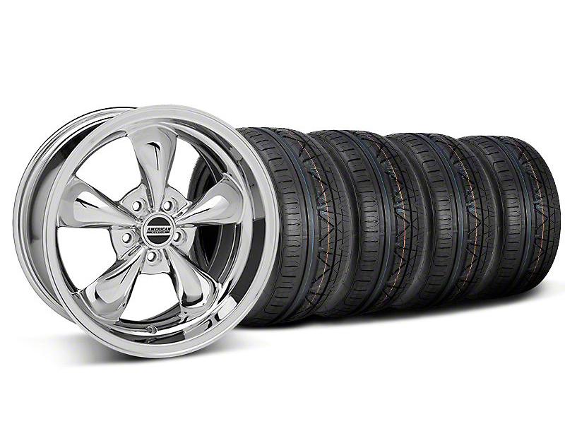 Bullitt Chrome Wheel & NITTO INVO Tire Kit - 18x9 (05-10 GT; 05-14 V6)