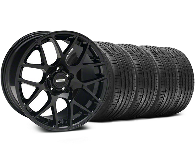 AMR Black Wheel & Sumitomo Maximum Performance HTR Z5 Tire Kit - 20x8.5 (05-14 All)