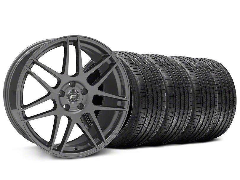 Forgestar F14 Monoblock Gunmetal Wheel & Sumitomo Maximum Performance HTR Z5 Tire Kit - 20x9 (05-14 All)