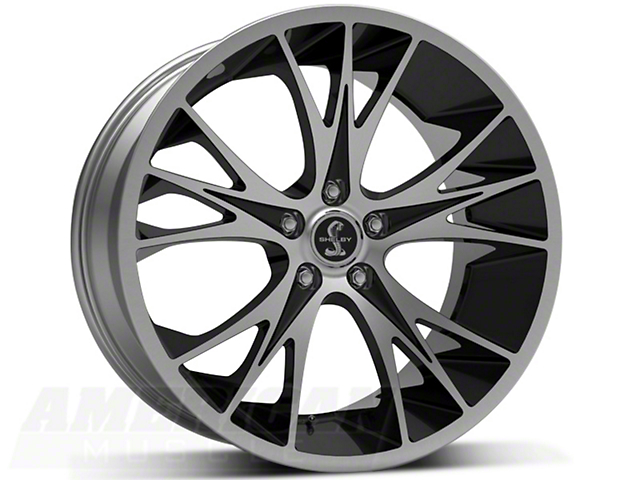 Staggered Shelby CS1 Black Machined Wheel & NITTO INVO Tire Kit - 20x9/11 (05-14)