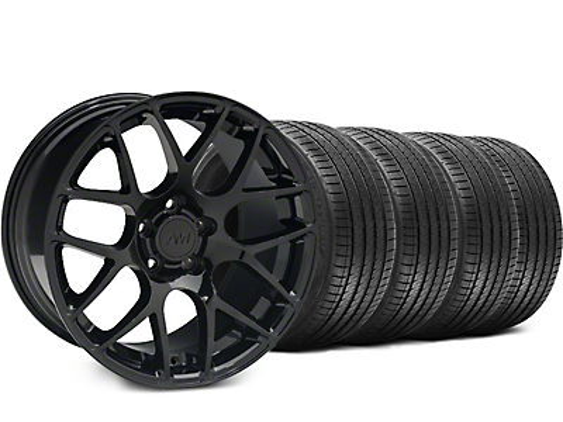 AMR Black Wheel & Sumitomo Tire Kit - 18x8 (99-04 All)