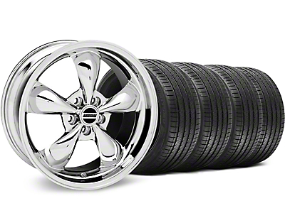 Bullitt Chrome Wheel & Sumitomo Tire Kit - 18x9 (94-98)