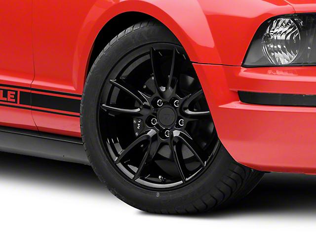Track Pack Style Gloss Black Wheel; 18x9 (05-09 GT, V6)