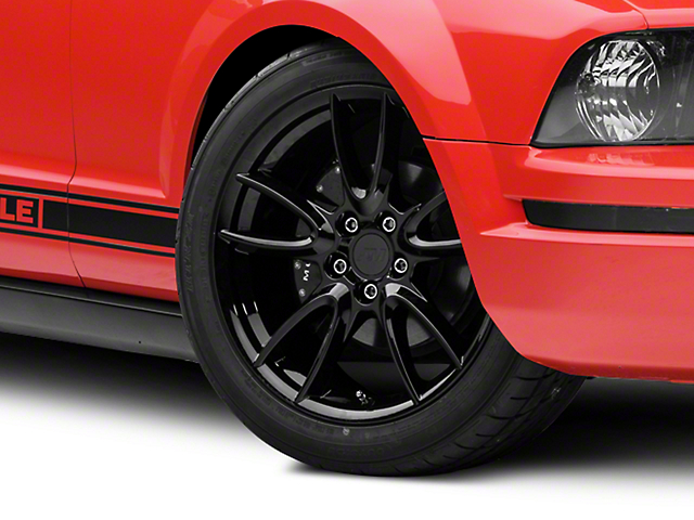 Track Pack Style Gloss Black Wheel - 19x8.5 (05-14 All)