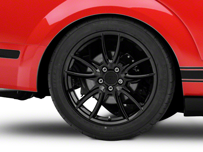 Track Pack Style Gloss Black Wheel - 19x10 - Rear Only (05-14 All)