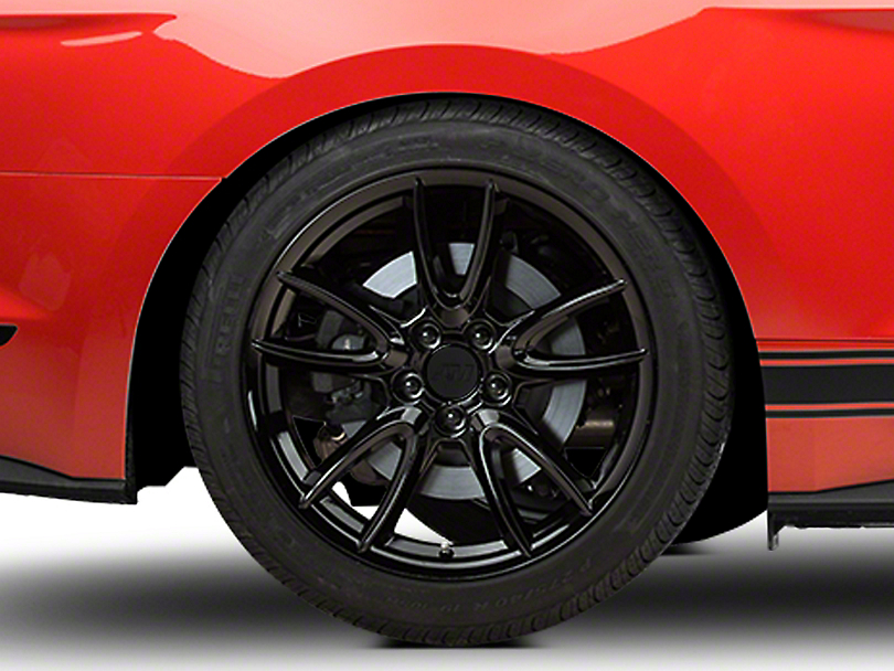 Track Pack Style Gloss Black Wheel - 19x10 (15-17 All)