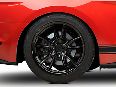 Track Pack Style Gloss Black Wheel - 19x10 (15-18 All)