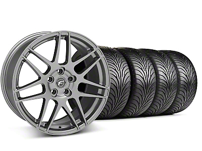Forgestar F14 Monoblock Gunmetal Wheel & Sumitomo Tire Kit - 18x9 (94-98 All)