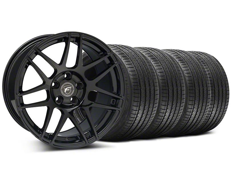 Forgestar F14 Monoblock Piano Black F14 Monoblock Wheel & Sumitomo Tire Kit - 18x9 (94-98 All)