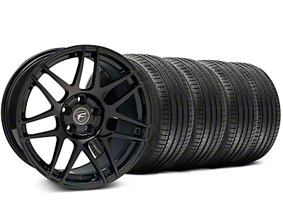 Forgestar F14 Monoblock Piano Black Wheel & Sumitomo Tire Kit - 18x9 (99-04 All)