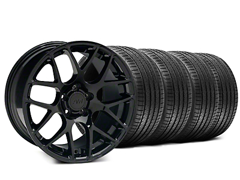 AMR Black Wheel & Sumitomo Tire Kit - 18x9 (99-04 All)