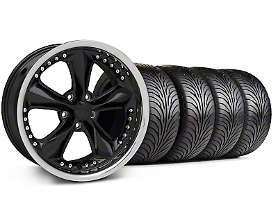 Foose Nitrous Black Wheel & Sumitomo Tire Kit - 18x9 (99-04 All)