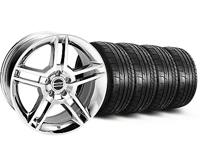 2010 GT500 Style Chrome Wheel & Mickey Thompson Tire Kit - 18x9 (05-14 All)