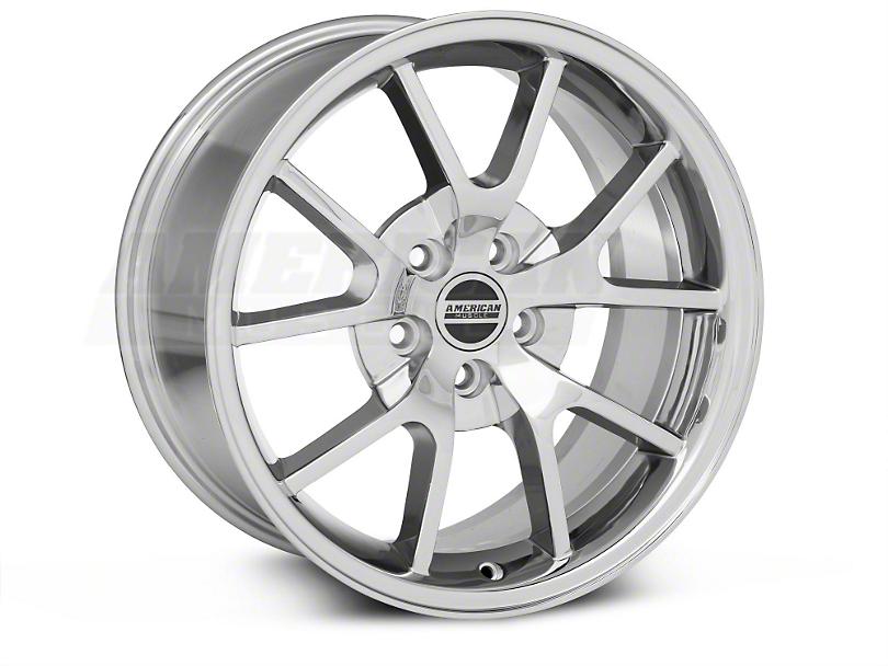 FR500 Style Chrome Wheel & Mickey Thompson Tire Kit - 18x9 (05-14 All)