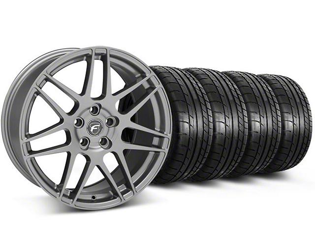 Forgestar F14 Monoblock Gunmetal Wheel & Mickey Thompson Tire Kit - 18x9 (05-14 All)