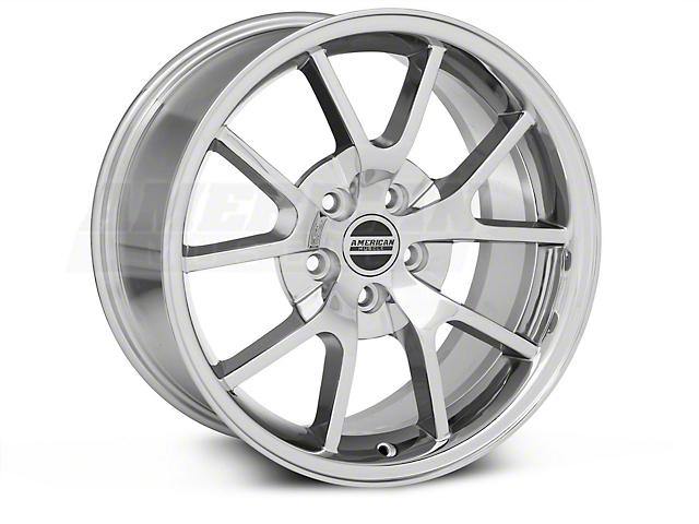FR500 Style Chrome Wheel & NITTO INVO Tire Kit - 18x9 (05-14 All)