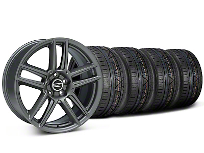 Laguna Seca Style Charcoal Wheel & NITTO INVO Tire Kit - 19x9 (05-14 All)