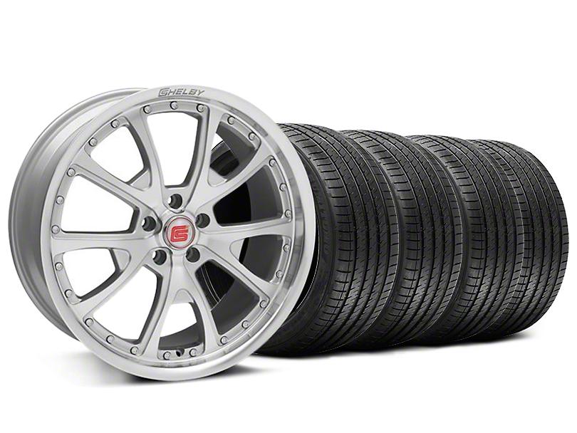 Shelby CS40 Silver Machined Wheel & Sumitomo Tire Kit - 20x9 (05-14)