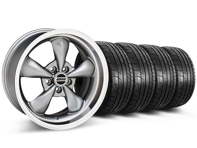Deep Dish Bullitt Anthracite Wheel & Mickey Thompson Tire Kit - 20x8.5 (05-10 GT; 05-14 V6)