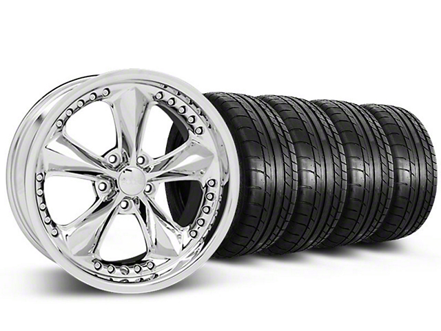 Foose Nitrous Chrome Wheel & Mickey Thompson Tire Kit - 20x8.5 (05-14 GT, V6)