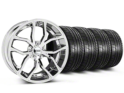 Foose Outcast Chrome Wheel & Mickey Thompson Tire Kit - 20x8.5 (05-14 All)