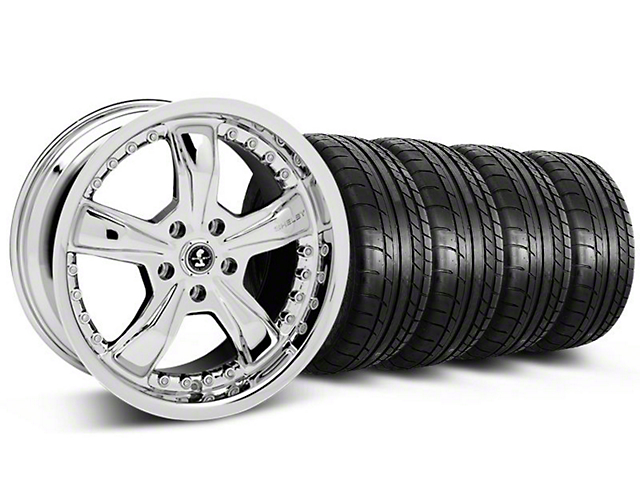 Shelby Razor Chrome Wheel & Mickey Thompson Tire Kit - 20x9 (05-14 All)