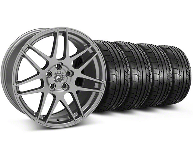 Forgestar F14 Monoblock Gunmetal Wheel & Mickey Thompson Tire Kit - 20x9 (05-14 All)