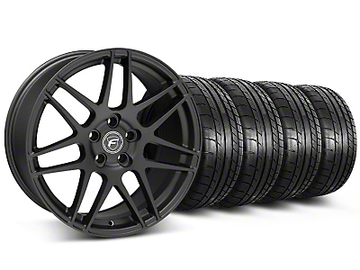 Forgestar F14 Monoblock Matte Black Wheel & Mickey Thompson Tire Kit - 20x9 (05-14 All)