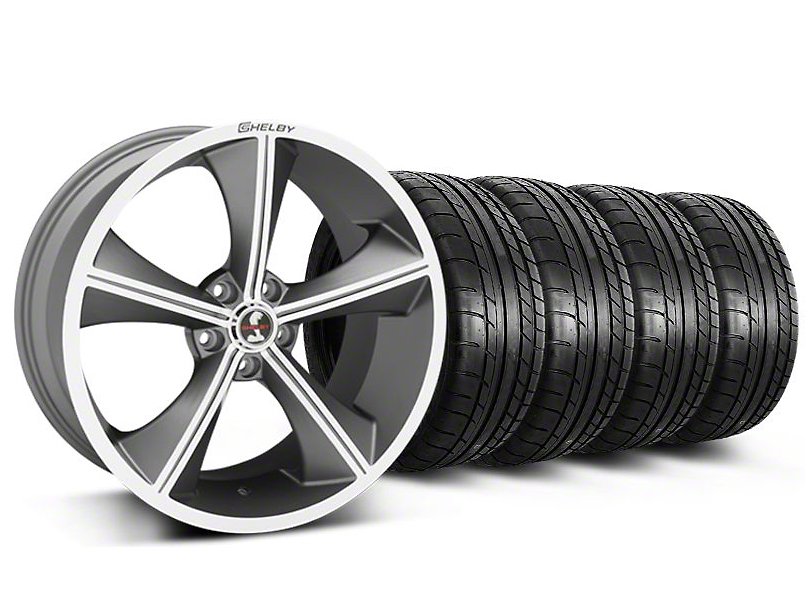 Shelby CS70 Gunmetal Wheel & Mickey Thompson Tire Kit - 20x9 (05-14)