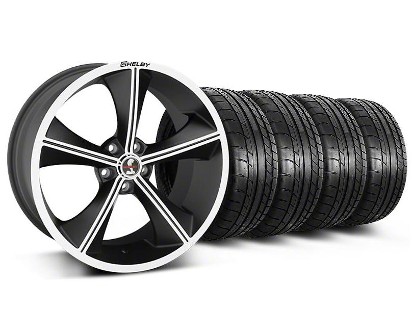 Shelby CS70 Matte Black Wheel & Mickey Thompson Tire Kit - 20x9 (05-14)
