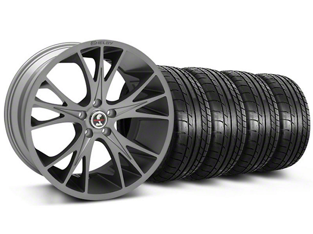 Shelby CS1 Gunmetal Wheel & Mickey Thompson Tire Kit - 20x9 (05-14)