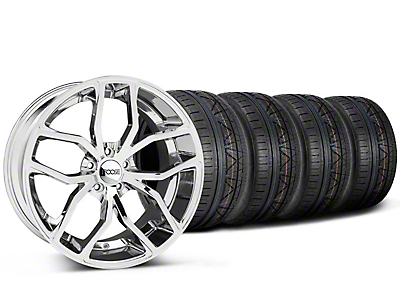 Foose Outcast Chrome Wheel & NITTO INVO Tire Kit - 20x8.5 (05-14 All)