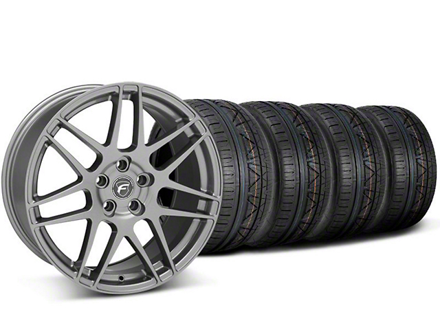 Forgestar F14 Monoblock Gunmetal Wheel & NITTO INVO Tire Kit - 20x9 (05-14 All)