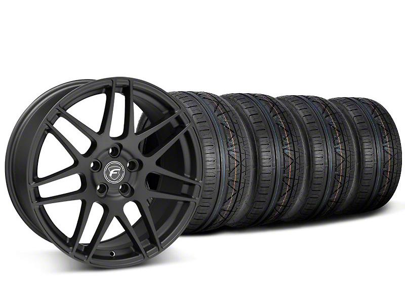Forgestar F14 Monoblock Matte Black Wheel & NITTO INVO Tire Kit - 20x9 (05-14 All)