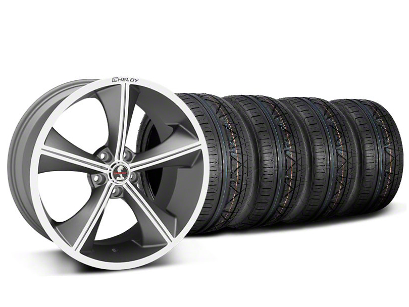 Shelby CS70 Gunmetal Wheel & NITTO INVO Tire Kit - 20x9 (05-14)