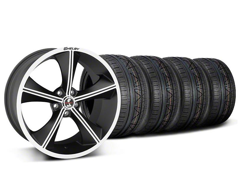 Shelby CS70 Matte Black Wheel & NITTO INVO Tire Kit - 20x9 (05-14)