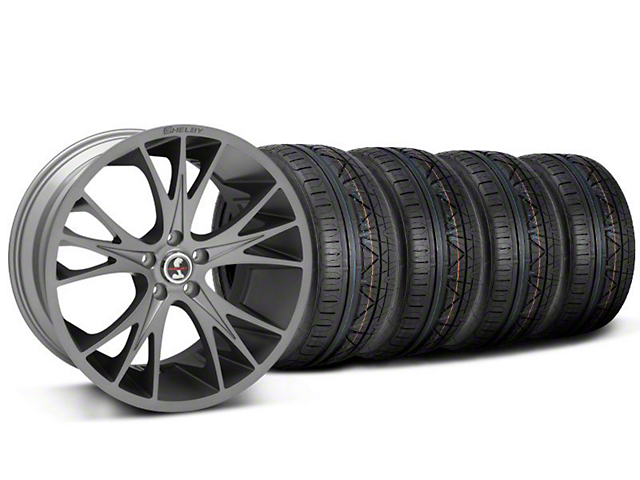 Shelby CS1 Gunmetal Wheel & NITTO INVO Tire Kit - 20x9 (05-14 All)