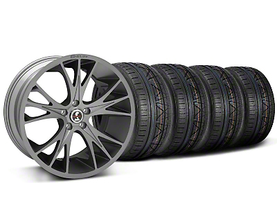 Shelby CS1 Gunmetal Wheel & NITTO INVO Tire Kit - 20x9 (05-14)
