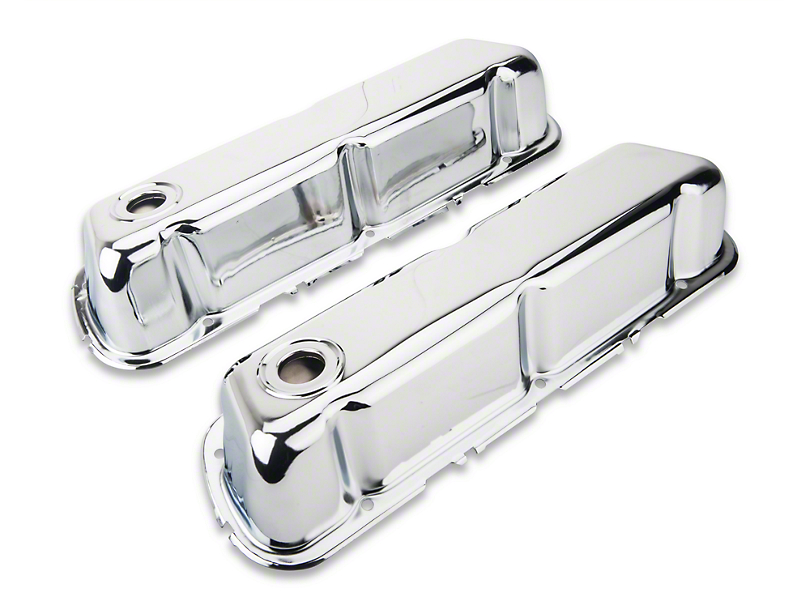 Holley Performance Chrome Valve Covers (79-95 V8)