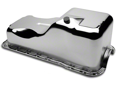 Mr. Gasket Chrome Oil Pan (79-87 5.0L)